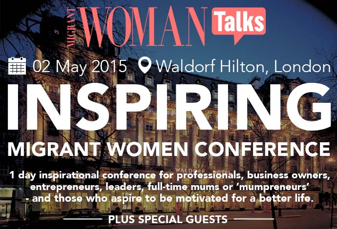 Book Tickets For Inspiring Migrant Women Conference